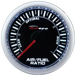 Budík DEPO racing Poměr palivo / vzduch - Night glow série