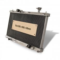 Hliníkový vodní chladič pro Honda Civic EP3 K20 2.0 Type R (00-05)