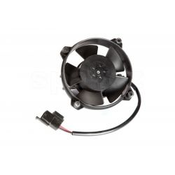 Univerzální elektrický ventilátor SPAL 96mm - tlačný, 12V