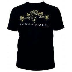 Tričko RACES Boxer rules černé