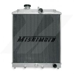 Hlinikový závodní chladič MISHIMOTO - 92-00 Honda Civic / 93-97 Del Sol 3-řadový