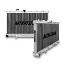 Hlinikový závodní chladič MISHIMOTO - 01-07 Subaru WRX a STI