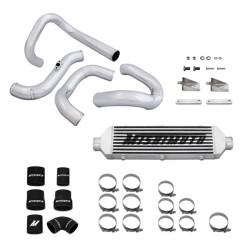 Závodný intercooler MISHIMOTO set - 2010+ Hyundai Genesis Turbo Intercooler & sada rúr, strieborny