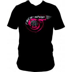 Tričko RACES Turbo černé