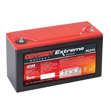 Autobaterie. boxy a držáky Gelová autobaterie Odyssey Racing EXTREME 15 PC370, 15Ah, 425A | race-shop.cz