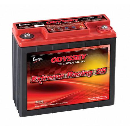 Autobaterie. boxy a držáky Gelová autobaterie Odyssey Racing EXTREME 25 PC680, 16Ah, 520A. | race-shop.cz