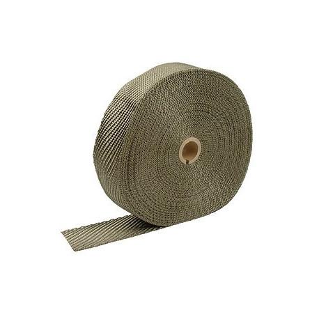 Izolační pásky na výfuk Termo izolační páska na svody a výfuk, titan 50mm x 10m / 15m x 2mm | race-shop.cz