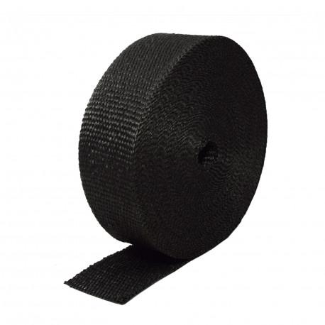 Izolační pásky na výfuk Termo izolační páska na svody a výfuk, černá 50mm x 10m x 1mm | race-shop.cz