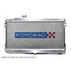 Hliníkový závodní chladič Koyorad pro Mazda RX-7, 91.10 ~