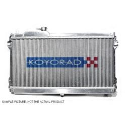 Hliníkový závodní chladič Koyorad pro Honda Civic, 01.10 ~