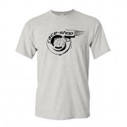 Tričko RACES Turbo šedé