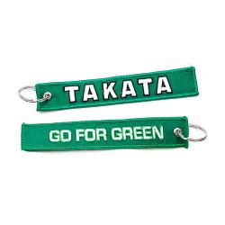 Klíčenka Takata go for green zelená
