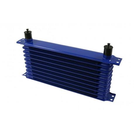 Univerzální olejové chladiče 10 řadový olejový chladič Trust style AN10, 330x70x50mm | race-shop.cz