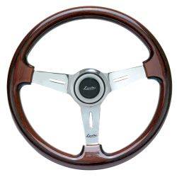 Sportovní volant Luisi Mugello Classico II, 370mm, mahagon, bez odsazení