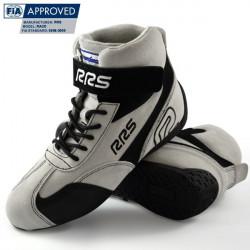 FIA boty RRS bílé