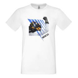 Tričko Sparco (T-Shirt) bílé