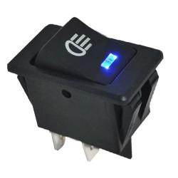 Univerzálny prepínač svetiel s LED