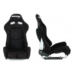 Sportovní sedačka LOW MAX K608i Černý semiš