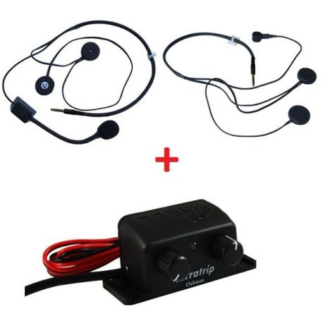 interkomem Sada centrály interkomu Terratrip Clubman + 2x headset | race-shop.cz