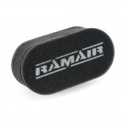 Dvojitý sportovní pěnové filtry Ramair na karburátory Weber & Dellorto