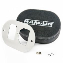 Dvojitý sportovní pěnový filtr Ramair na karburátory GM Varajet II