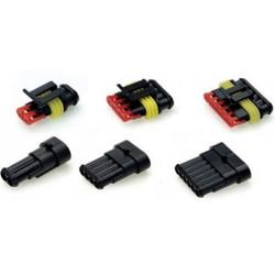 Voděodolný konektor 1 až 6 pinový