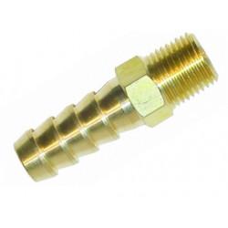 Mosazná přímá redukce SYTEC 1/4 NPT na 10mm