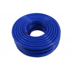 Silikonová podtlaková hadice 8mm vystužená, modrá