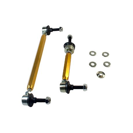 Whiteline Whiteline Sway bar - link assembly 50mm lift heavy duty adj steel ball, přední náprava | race-shop.cz