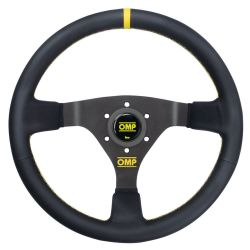 3 ramenný volant OMP WRC, 350mm kůže, 70mm