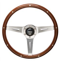 3 ramenný volant Sparco Sanremo, 355mm dřevo, 40mm