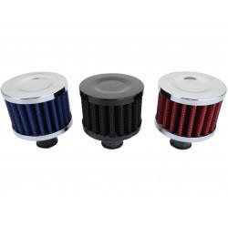 Filtr na odvětrávání klikové skříně RACES, různé barvy