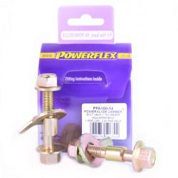 Powerflex Sada šroubů nastavení odklonu (14mm) Renault 21 inc Turbo (1986-1994)
