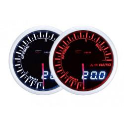 Budík DEPO racing Poměr palivo / vzduch - Dual view série