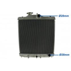 Hliníkový vodní chladič pro Honda Civic 93-97 del sol