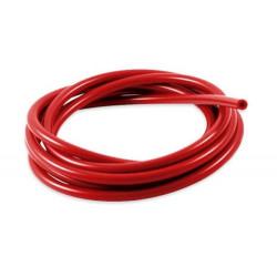 Silikonová podtlaková hadice 3mm, červená