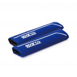 Chránič bezpečnostního pásu SPARCO modrý
