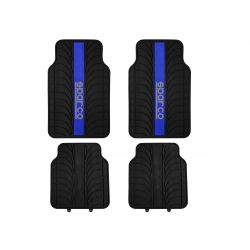 Autokoberce Sparco Corsa- gumené (modré)
