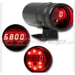 Ukazatel doporučeného rychlostního stupně (shift light) s digitálním otáčkoměrem