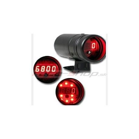 Kontrolky přeřazení - Shift light Ukazatel doporučeného rychlostního stupně (shift light) s digitálním otáčkoměrem | race-shop.cz