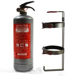 Ruční hasicí přístroj 2kg RRS s FIA (šedá)