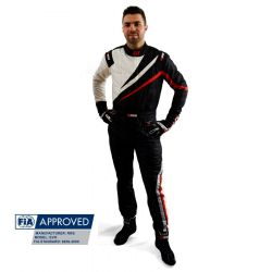 FIA Kombinéza RRS EVO Dynamic Black/ Red