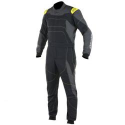 FIA Kombinéza ALPINESTARS GP Race Black/Grey/Yellow