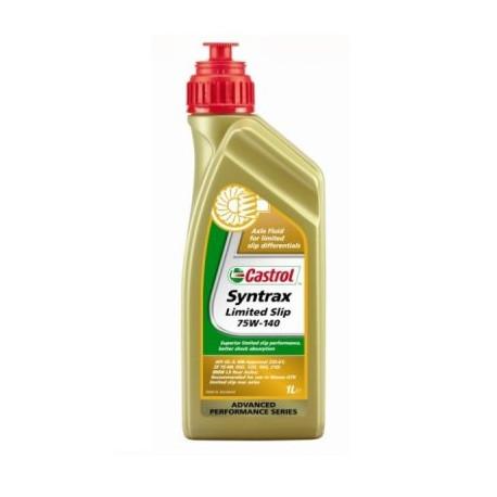 Převodové oleje Castrol Syntrax Limited slip 75w140 - 1l | race-shop.cz