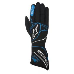 Rukavice Alpinestars Tech 1ZX s FIA homologací (vnější šití) modrá