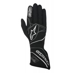 Rukavice Alpinestars Tech 1ZX s FIA homologací (vnější šití) šedá