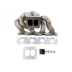 Nerezové laděné svody pro AUDI A5 S3 A6 Q5 VW GOLF V-VII 2.0TFSI EXTREME - 4 valec