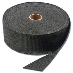 Termo izolační páska na svody a výfuk Thermotec, černá, 50mm x 15m