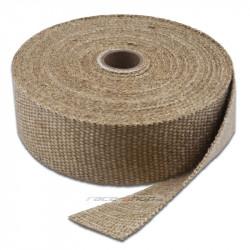 Termo izolační páska na svody a výfuk Thermotec, bílá, 25mm x 4,5m