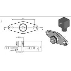 Adaptér na palivovou rampu Turbosmart pro Subaru WRX STI 08+